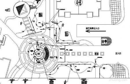怎么看园林水电施工图纸图片