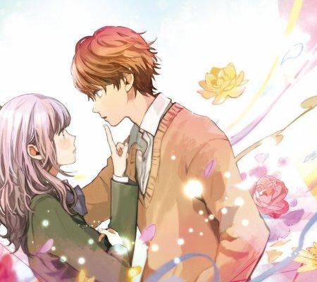 求古风图片,一男一女,背景要有红莲的!谢谢图片