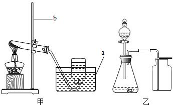 艺术囹�a�b&��#�+���_(1)写出图中a,b仪器的名称:a______,b