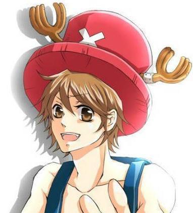 带乔巴帽子的动漫男生头像图片