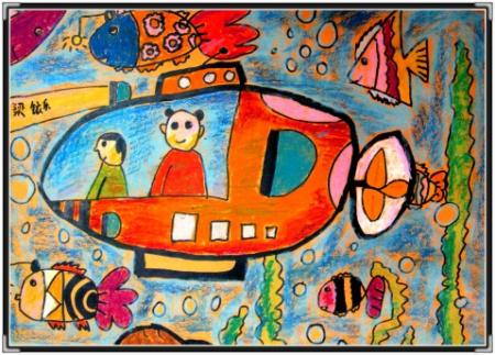 儿童画 450_323图片