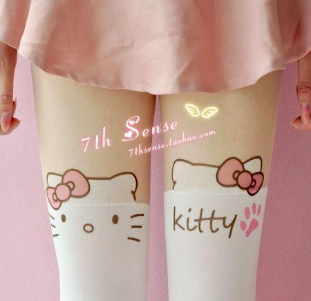 白色长筒袜有那几种款式