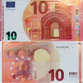 法国的十块钱什么样子图片