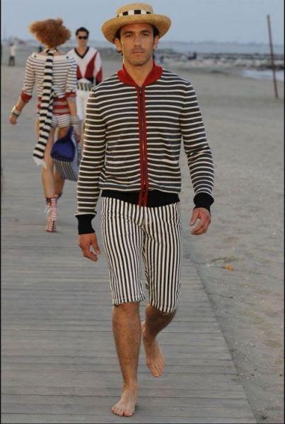chanel男装模特