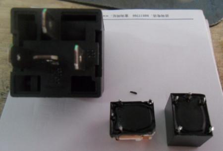 如何安装 四抓继电器 如何接汽车喇叭 如何接线高清图片