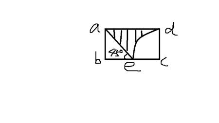 下面长方形的面积为40平方分米,长方形宽5dm,求s阴=?图片