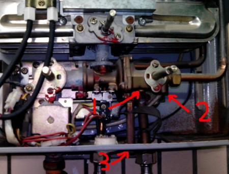 调水气联动阀失败,坐等热水器专家搭救!(财富不够只能图片