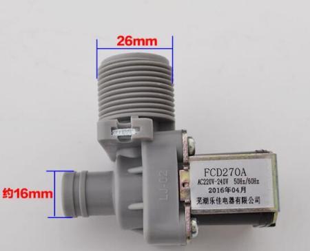 洗衣机进水电磁阀fcd90a与fcd270a参数有何不同图片