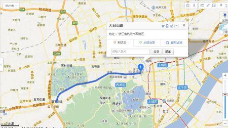 1,天目山路是位于杭州的西湖区.图片
