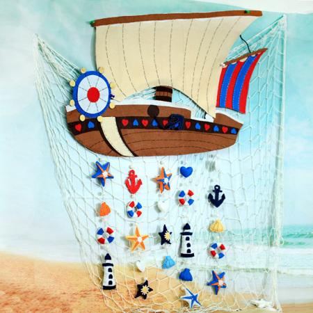 幼儿园以海洋为主题该如何布置铁围栏,有类似海洋图片图片