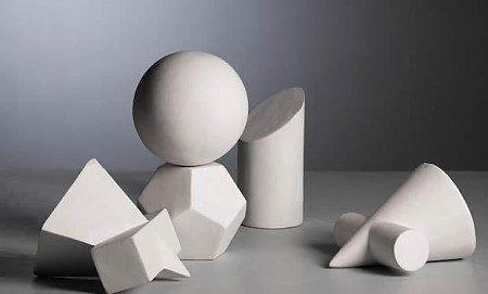 素描 几何石膏 体图片图片