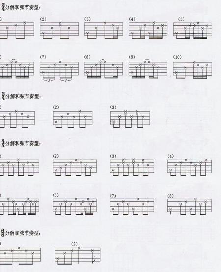 入戏太深吉他谱图片