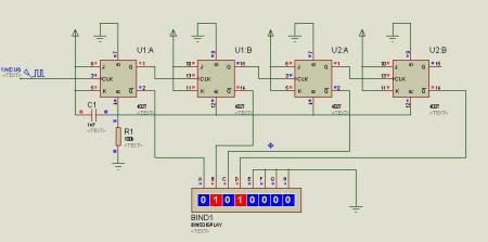 """关于数字电路的题目""""用jk触发器设计一个四为异步二进制加法器""""你会了图片"""