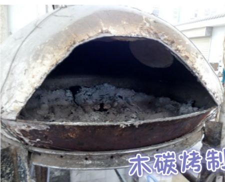 据说缸炉用面团试验,想请教用鸡窝炉烧到多少温度贴烧饼合适,用几印锅图片