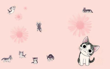 小奇猫怎么画? 求图图片