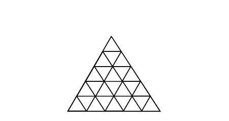 怎么计算一共有几个三角形图片