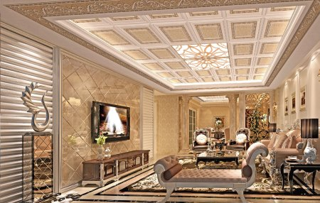 客厅挑空的三层楼怎样装修设计图片