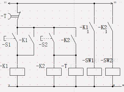 如何用继电器控制两个气缸图片