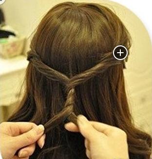 怎么扎芭比娃娃的古代头发图片