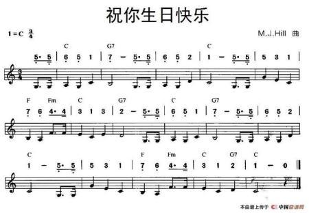 跪求c调复音口琴能吹的流行曲简谱,最好多有点儿动漫歌曲,跪求!图片