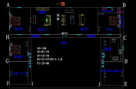 包括房屋占地面积(长和宽),坐向,设计要求,地基周边情况.图片