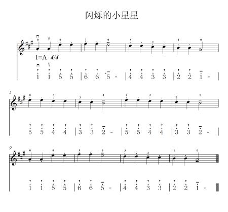 有适合初学者小提琴的乐谱吗?最