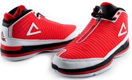求没有鞋带的的篮球鞋(那种拉链式的 然后粘布的包脚)图片