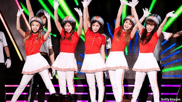 找一个日本女子五人组合