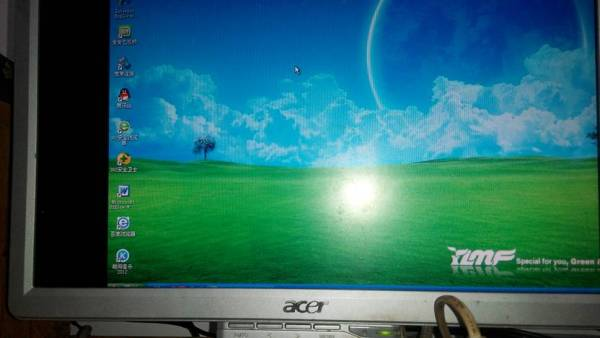 装雨林木风xp系统后屏幕偏移怎么办