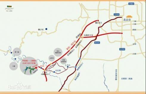 想知道 北京市京石二 高速在哪图片