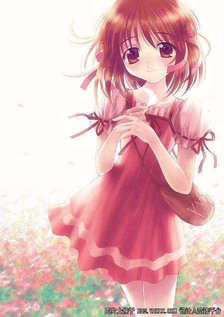 求漂亮的动漫美少女图图