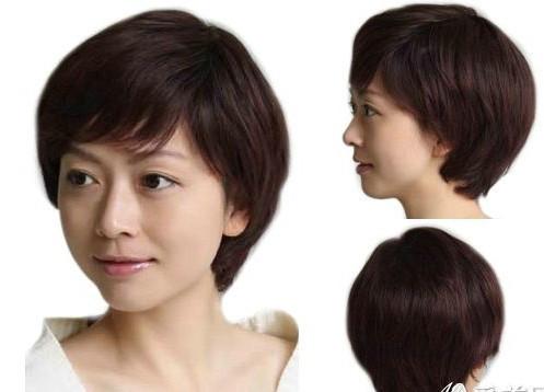 求短发发型初一女学生的