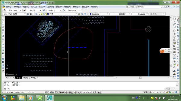 cad中用同一线型画扫描的两条图纸不一样_百图片虚线出来如何上的图片