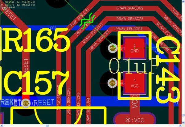 绘制PCB四电源,其中内两层是地线和层板服装设计步骤绘制效果图电脑图片