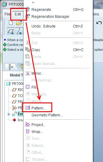 proe5.0阵列命令_proe50移动命令proe50中复制命令咋用proe