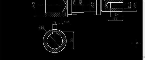 CAD4个小图形_百度知道cad显示无效文件问题文件图片