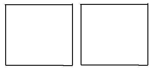 怎么用两个面积为2的小正方形拼成一个面积为4的大正方形?图片