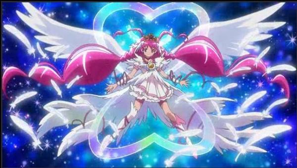 谁有天使翅膀版光之美少女?要快!图片要清楚!