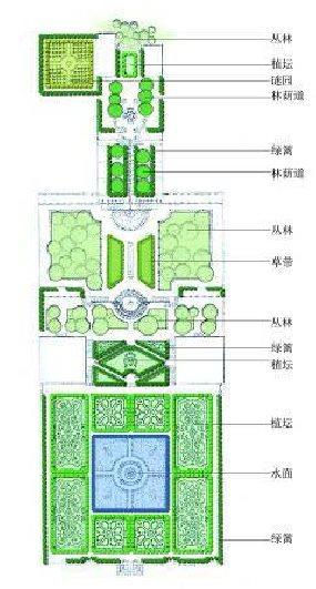 埃斯特庄园平面图