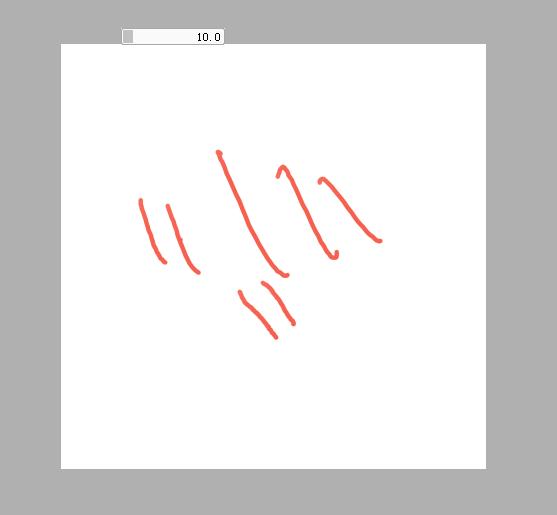 为什么我的数位笔画出来的线条变成这样了