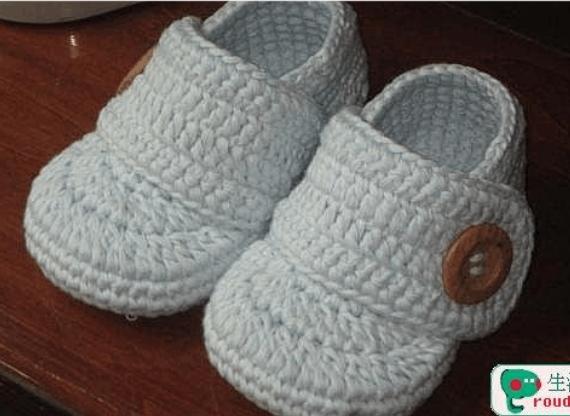 钩宝宝鞋图解片_宝宝鞋钩法教你怎样钩宝宝鞋的鞋片形状_刘丽