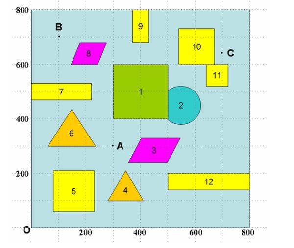 matlab作正三角形,正方形图片