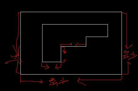 CAD量两线中间折线_百度知道cad是意思双什么长度图片