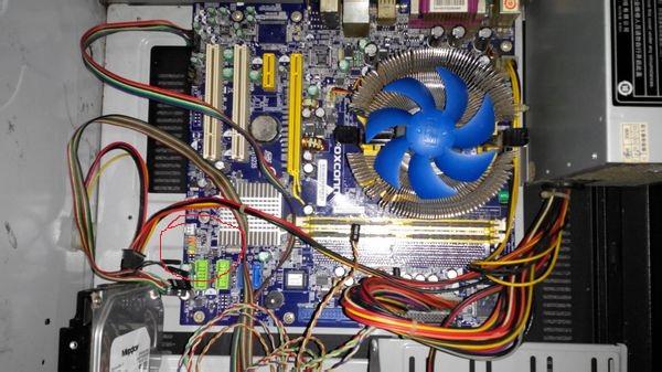 foxconn主板接线图图片