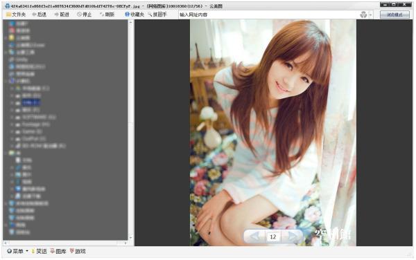 跪求一个下载美女图片的软件