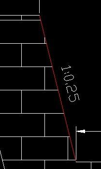 那条红的图纸(1:0.25)算角度?或者在CADcad斜线命令集图片