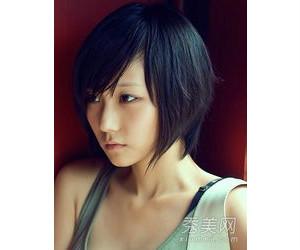 高额头瓜子脸女生适合什么发型图片