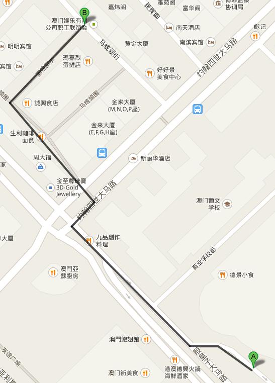 想知道:澳门特别行政区从濠江酒店附近到澳门威尼斯人酒店怎么坐公交?或者附近有免费巴士直达吗?