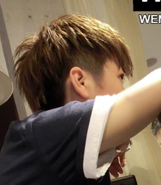 深圳福田区哪里有剪头发的(纹理烫)向下面图片这种图片