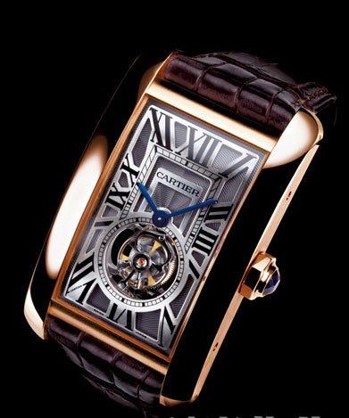 卡地亚手表价格图片